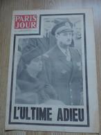 Mort Du Général De Gaulle, Paris Jour Du 13 Novembre 1970, 24 Pages - Desde 1950