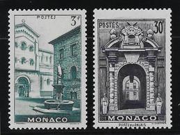 Monaco N° 369/370 - Neuf ** Sans Charnière - TB - Ungebraucht