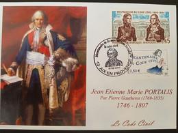FDC Portalis, Code Civil, Aix En Provence, 15.09.2007, YT 1774-3644 - 2000-2009