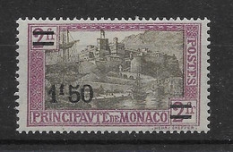 Monaco N°110 - Neuf ** Sans Charnière - TB - Unused Stamps
