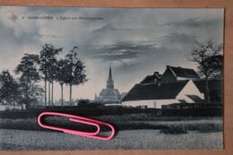 GANSHOREN : L'église Des Rédemptoristes Et La Campagne En 1911 - Ganshoren