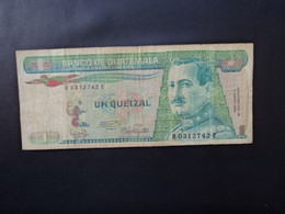 GUATEMALA : 1 QUETZAL   3.1.1986   P 66     TB * - Guatemala