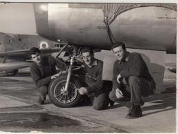 AEREO PLANE AIRCRAFT MILITARE MONTICHIARI - FOTO ORIGINALE 1960 - Aviación