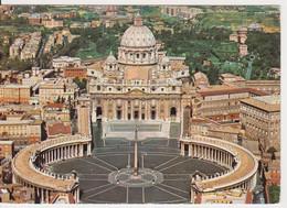 ROMA ITALY ITALIE POSTCARD USED - San Pietro