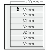 Safe Dual Blankoblätter 617 (VE = 5 Blatt) Neuware (BL 7 - Fogli Bianchi