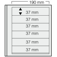 Safe Dual Blankoblätter 616 (VE = 5 Blatt) Neuware (BL 6 - Fogli Bianchi