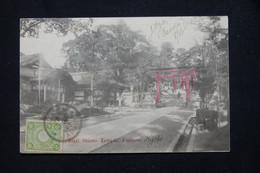 JAPON - Affranchissement De Osaka Sur Carte Postale En 1905 Pour Le Sénégal ( Destination Peu Fréquente ) - L 78666 - Lettres & Documents