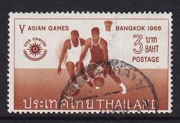 Thailand 1966, Basketball, Minr 464 Vfu. Cv 5 Euro - Thailand
