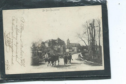 46-LACAPELLE-MARIVAL-Une Vue Animée Du Village- Agriculteur Et Ses Betes - Lacapelle Marival