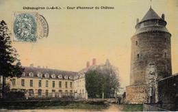 Thematiques 35 Ille Et Vilaine Chateaugiron Cour D'Honneur Du Château - Châteaugiron
