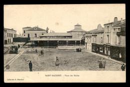 79 - ST-MAIXENT - PLACE DES HALLES - CACHET ECOLE MILITAIRE D'INFANTERIE - Saint Maixent L'Ecole