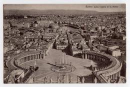 Roma - Cartolina Antica DALLA CUPOLA DI SAN PIETRO (6697, Ed. Brunner & C.) - OTTIMA D25C - San Pietro