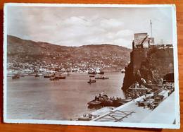 MADEIRA - FUNCHAL - PORTO NAVI  CARTOLINA VIAGGIATA 1939 - Madeira