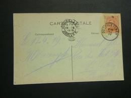Stempel ( 560 )  Afstempeling Op Kaart  Zuidschote  -   Noodstempel 1919 - Noodstempels (1919)