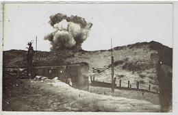 Photo - Duitse Fotokaart -1e Wereldoorlog - Granaatinslag - Kust - Guerra 1914-18