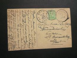 Stempel ( 562 )  Afstempeling Op Kaart  Landschap  -   Noodstempel 1919 - Noodstempels (1919)