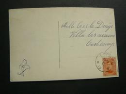 Stempel ( 563 )  Afstempeling Op Fantasiekaart   -   Noodstempel 1919 + Sterstempel - Noodstempels (1919)