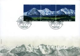 Suisse Schweiz BERN Eiger Mönch Jungfrau Ausgabetag Envel. 1er Jour 2006 état Neuf Superbe 3 Timbres - Sammlungen