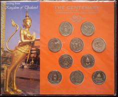 100 Years Nation Developments (10 X 2 Bath Commemoratieven) 1988-1996 UNC - Thailand