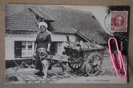 GANSHOREN : Laitière Flamande   En 1924 - Ganshoren