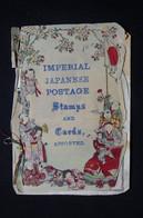 JAPON - Petit Livret Illustré ( Très Fragile ) Avec Timbres Et Entier Postaux De L 'Empire Du Japon - L 78697 - Lettres & Documents