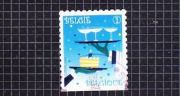 2010 Nr 4040a Gestempeld,zegel Uit Boekje B113.Feestzegels - Timbres De Fêtes - Gebraucht