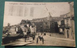 CALTAGIRONE  # Cartolina Viaggiata 11/VII/1921# Spedita Da Napoli ,destinazione Verona - Unclassified