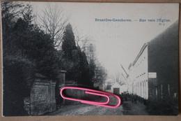GANSHOREN : Rue Vers L'église Avant  1906 - Ganshoren