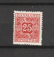 1923 25 ORE RED MNH** - Segnatasse