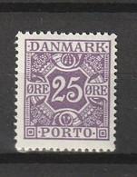 1926 25 ORE VIOLET MNH** - Postage Due