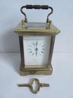 Pendulette Officier , Pierre Jacot Paris, Bronze Doré - Clocks