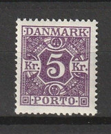 1925 5KR MNH** - Port Dû (Taxe)