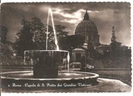 ROMA  CUPOLA DI SAN PIETRO DAI GIARDINI VATICANI - San Pietro