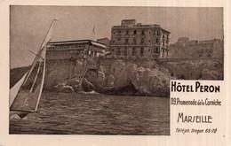 CPA   13   MARSEILLE    HOTEL PERON-119, PROMENADE DE LA CORNICHE - Otros