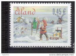 Aland 2004 N°243 Neuf Noël - Aland