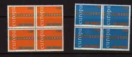 Saint-Marin  (1971)  -Europa - En Blocs De Quatre -  Neufs** - Unused Stamps