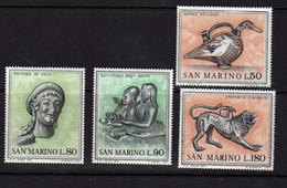 Saint-Marin  (1971)  - Art Etrusque -  Neufs** - Unused Stamps