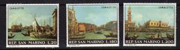 Saint-Marin  (1971)  -Tableaux De Canaletto -   Neufs** - Unused Stamps