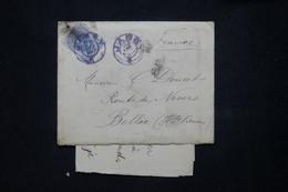 ROUMANIE - Enveloppe Avec Contenu Du Pensionnat De Demoiselles à Jassy En 1903 Pour La France - L 78725 - Briefe U. Dokumente