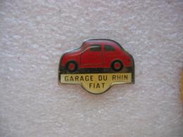 Pin's Fiat 500, Garage Du Rhin à Strasbourg - Unclassified