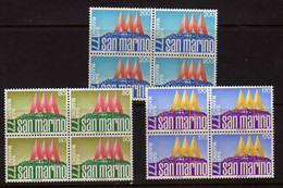 "Saint-Marin  (1977)  - ""San-Marino'77"" Exposition Philatelique -  En Blocs De Quatre -  Neufs** - Unused Stamps"