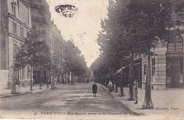 VIL- PARIS  XVI  RUE MOZART PRISE DE LA CHAUSSEE DE LA MUETTE    CPA  CIRCULEE - Arrondissement: 16