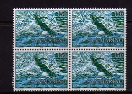 Saint-Marin  (1979)  - Championnat De Ski Nautique  - En Blocs De Quatre  -  Neufs** - Unused Stamps