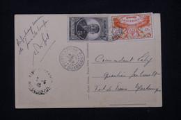 GUADELOUPE - Affranchissement De Pointe à Pitre Sur Carte Postale En 1946 Pour Fort De France - L 78737 - Lettres & Documents