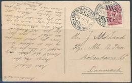 Kristinestad * Kristiina / Postcard, 2x Postmark - 21 June 1912 - Storia Postale