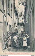 62) CALAIS : Une Rue Du Courgain (animée !) - Calais