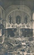 62) GREVILLERS : Carte-photo Allemande - Intérieure église - Guerre De 14/18 - 1.WK - WW1 - Weltkrieg (1917) - Altri Comuni