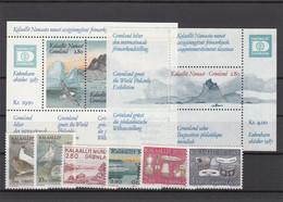 Greenland 1987 - Full Year MNH ** - Komplette Jahrgänge