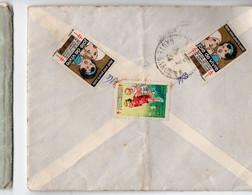 Toulouse ( 31 Haute Garonne) Enveloppe De 1934 Avec 3 Vignettes  Antitberculeuses Au Verso  (PPP26228) - Antitubercolosi