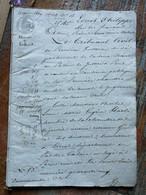 Lot, 8 Actes: M. QUILLIARD Maître De Forges à Clairvaux, Harlé D'Ophove - Manoscritti